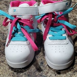 Toddler girl Fila shoes 9M